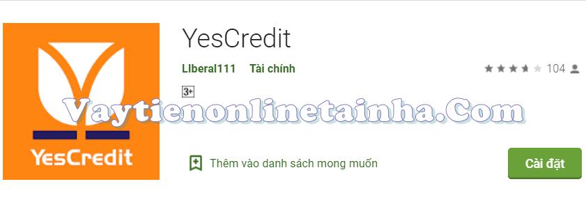 Tải App YesCredit