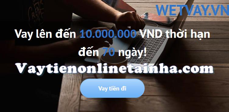 Vay tiền wetvay
