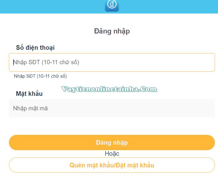 Wetien.vn đăng ký vay nhanh