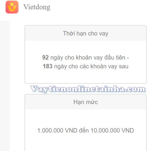 Trang chủ Vietdong h5 cho vay siêu dễ, không rườm rà